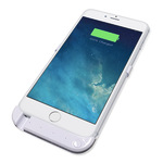 Juicepow CLIP-ON i6 2800mAH Battery Case Weiss für iPhone 6 - Gehäuse mit integrierter Batterie