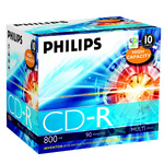 Philips CD-R 800MB/90 Min 10er Jewel Case