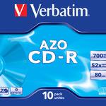 Verbatim CD-R 700MB/80 Min 10er Jewel Case