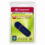 Transcend USB Stick 16GB TS16GJF300 JetFlash Schwarz/Violett