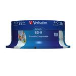 Verbatim 25pack 43811 spindle printable inkjet