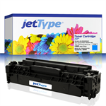jetType Toner kompatibel zu HP CC531A 304A