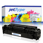 jetType Toner kompatibel zu HP CC532A 304A