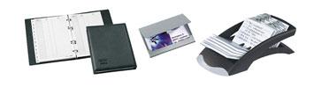 Telefon-, Adress- und Visitenkartenablagen
