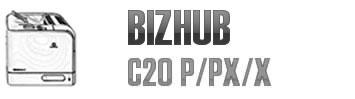 Bizhub C20 P/PX/X