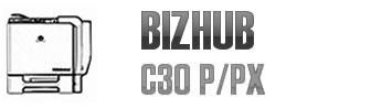 Bizhub C30 P/PX