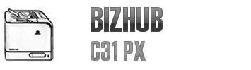 Bizhub C31 PX